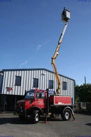 mercedes unimog cer u1300l lwb unimog with niftylift access platform no current loler
