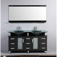 Bathroom Sink Design Ideas Interior 60 Inch Double Sink Bathroom Vanity Modern Office
