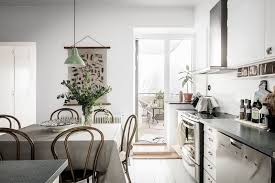 Modern Vintage Interior Design In Swedish Apartment - Modern and vintage interior design