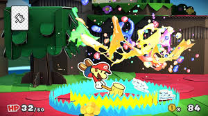 Paper Mario World Map by Paper Mario Color Splash Wii U Review