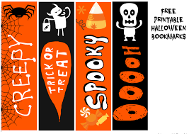 halloween printable bookmarks free printable halloween bookmarks onion rings u0026 things