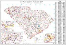 Zip Code Maps by South Carolina Zip Code Map Zoom