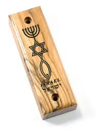 amazon com christian messianic mezuzah case for door by most