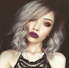 african american silver hair styles wavy bob with bangs grey hair silver hair styles wigs for black