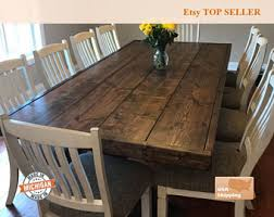dining room table rustic rustic dining table etsy
