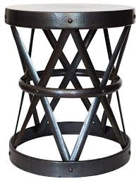 Iron Accent Table Metal Accent Table Iron Wood