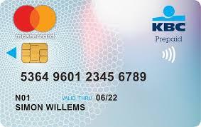 mastercard prepaid card prepaid mastercard from kbc brussels kbc brussels bank insurance
