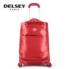 light travel bags luggage delsey trolley luggage ultra light female travel bag travel bag