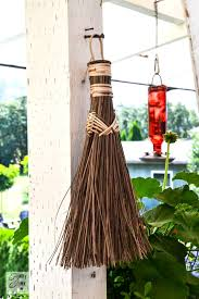 Patio Broom by A Flower Filled Outdoor Patio Officefunky Junk Interiors