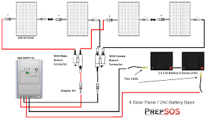 solar battery bank wiring diagrams for series diagram wiring