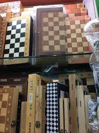 wholesale folding wooden chess game 3 in 1 chess board backgammon
