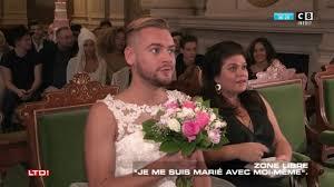Lui Meme - jeremstar se marie avec lui même dans une cérémonie pas comme les