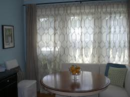 Dining Room Curtain Panels Decorating Elegant Jcpenny Curtains For Inspiring Interior Home