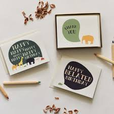 elephants never forget cards boxed set of 8 june december