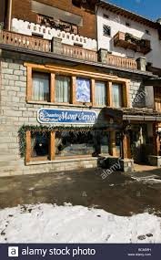 hotel jumeaux cervinia aosta italy stock photo royalty free image