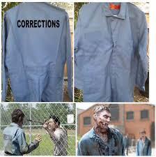 Halloween Central Costumes Walking Dead Zombie Prisoner Central Ga Corrections Jumpsuit