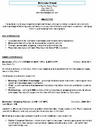 cover letter objective for resume server resume objective for fine