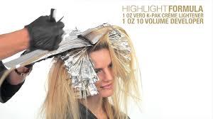 joico lumishine blonde hair color protutorial youtube