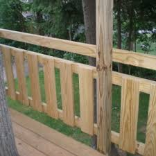 Deck Handrail Code Decor U0026 Tips Add Your Outdoor Living Space With Deck Railing