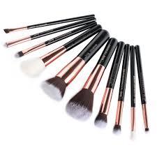 professional makeup tools aliexpress buy jessup brand black gold professional