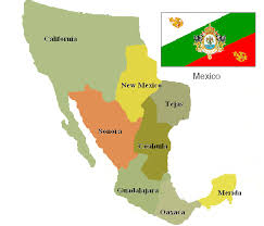 map of mexico 1821 empire alternate history discussion