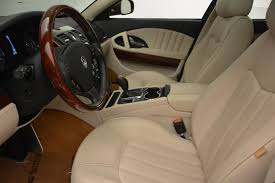 maserati quattroporte interior 2011 maserati quattroporte stock 7039 for sale near westport ct