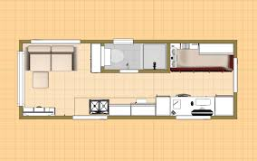 floor plan with grid of the 176 sq ft sugarplum micro homes