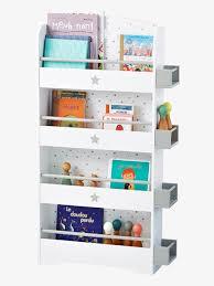 biblioth鑷ue chambre fille etagère bibliothèque enfant ligne sirius blanc bois vertbaudet