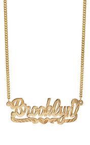 name plate necklaces pratt nameplate necklace barneys new york