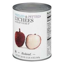 lychee fruit drawing roland lychees peeled u0026 pitted in heavy syrup 20 0 oz walmart com