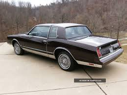chevrolet monte carlo 5 0 1985 auto images and specification