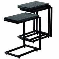 steel end tables foter