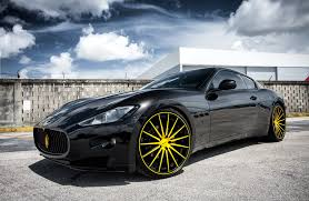 all black maserati customized maserati granturismo exclusive motoring miami fl