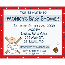 photo baby shower invitations in image
