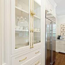Glass Kitchen Cabinet Knobs Brass Cremone Bolt Hardware On Glass Kitchen Cabinets The Dream
