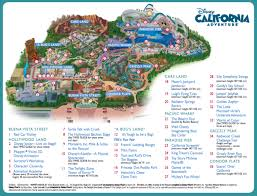 disneyland california adventure map disneyland resort the happiest place on earth magical distractions