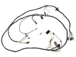 67 mustang u0026 gt main underdash wiring harness w tach alloy
