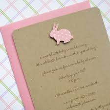 bunny baby shower invitations theruntime com