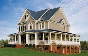 Black And White Homes With Accent Red 50 House Siding Ideas Allura Usa