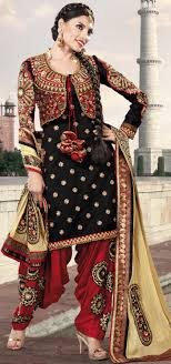 design of jacket suit chic upper jacket style new patiala salwar suits for young girls