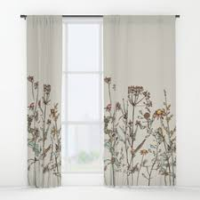 Where The Wild Things Are Curtains Nature Window Curtains Society6