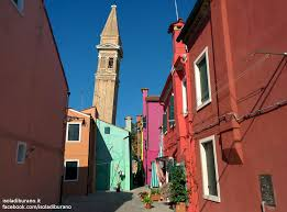 Burano Italy The Leaning Bell Tower Of Burano Venice Italy