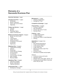 how to write the financial section of a business plan how to