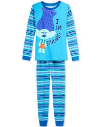 dreamworks trolls 2 pc trolls i am smiling pajama set