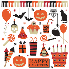 free halloween background clipart halloween vector pack vector elements vectorvice 11 eps files a