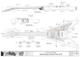 hollowbody electric guitar plans 3 electronic version l 5 ces