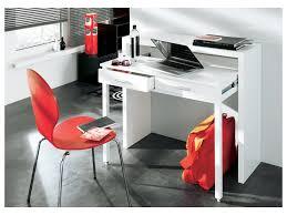 bureau gigogne console bureau sisko 2 tiroirs bouleau 2 coloris