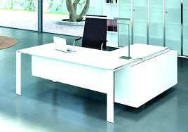 bureau design blanc laqué bureau laquac blanc design zenty co