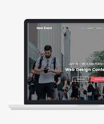 responsive html5 event website templates htmltemplates co