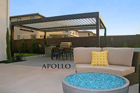 Louvered Roof Pergola by Apollo Louvered Roof System U2014 Sunmaster Of Naples